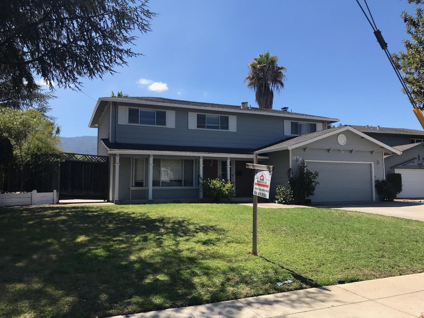 Property for sale at 1494 Redmond AVE, San Jose,  California 95120