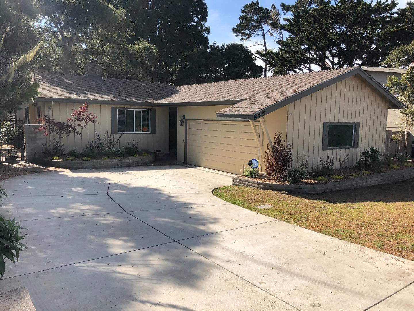 Property for sale at 849 Marino Pines RD, Pacific Grove,  CA 93950