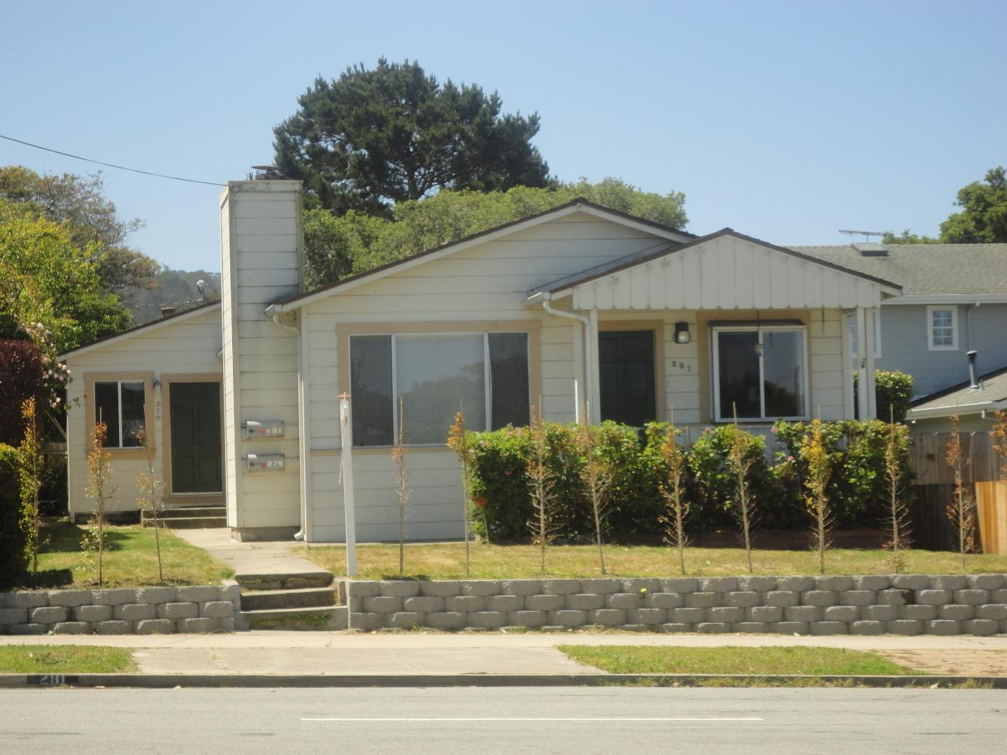Property for sale at 281 & 279 Pine AVE, Pacific Grove,  California 93950