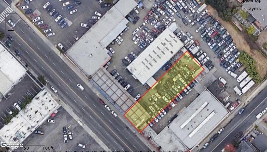 加州海沃德Mission Blvd 21986年照片