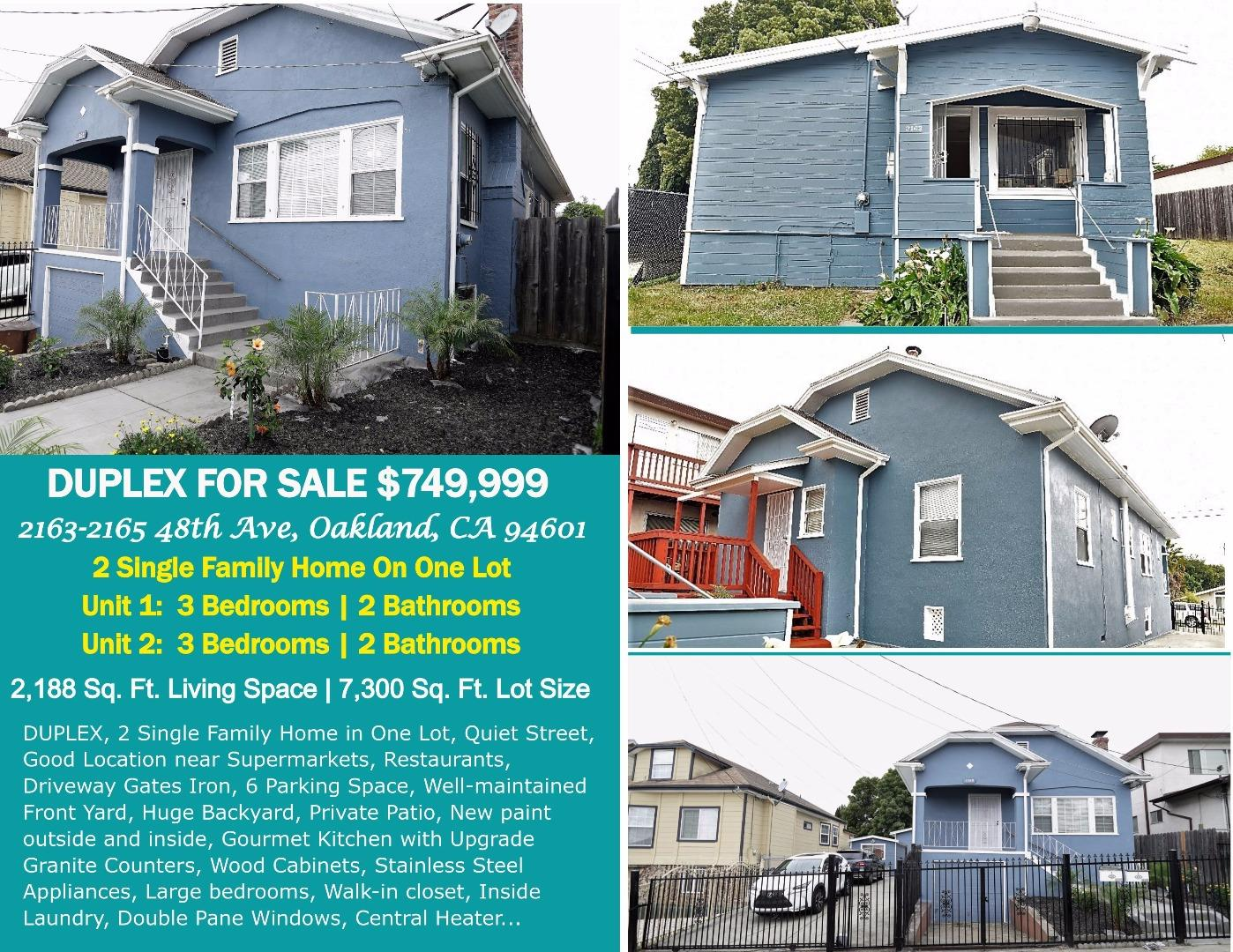 2163 48Th Ave, Oakland, Ca 94601 | Bailey Properties