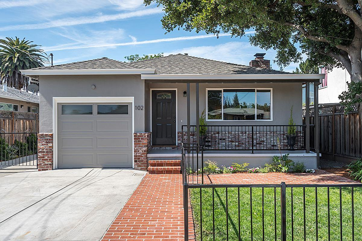 Detail Gallery Image 1 Of 1 For 102 Nueva Ave, Redwood City, CA 94061