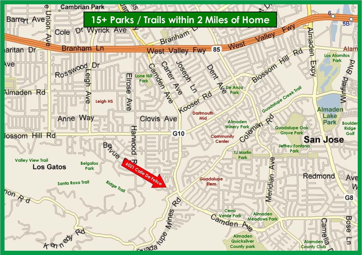6021 Calle De Felice, San Jose, 95124 - SOLD LISTING, MLS ...