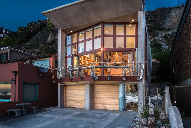 Single Family Home for Sale at 383 Beach Drive 383 Beach Drive Aptos, California 95003 United States