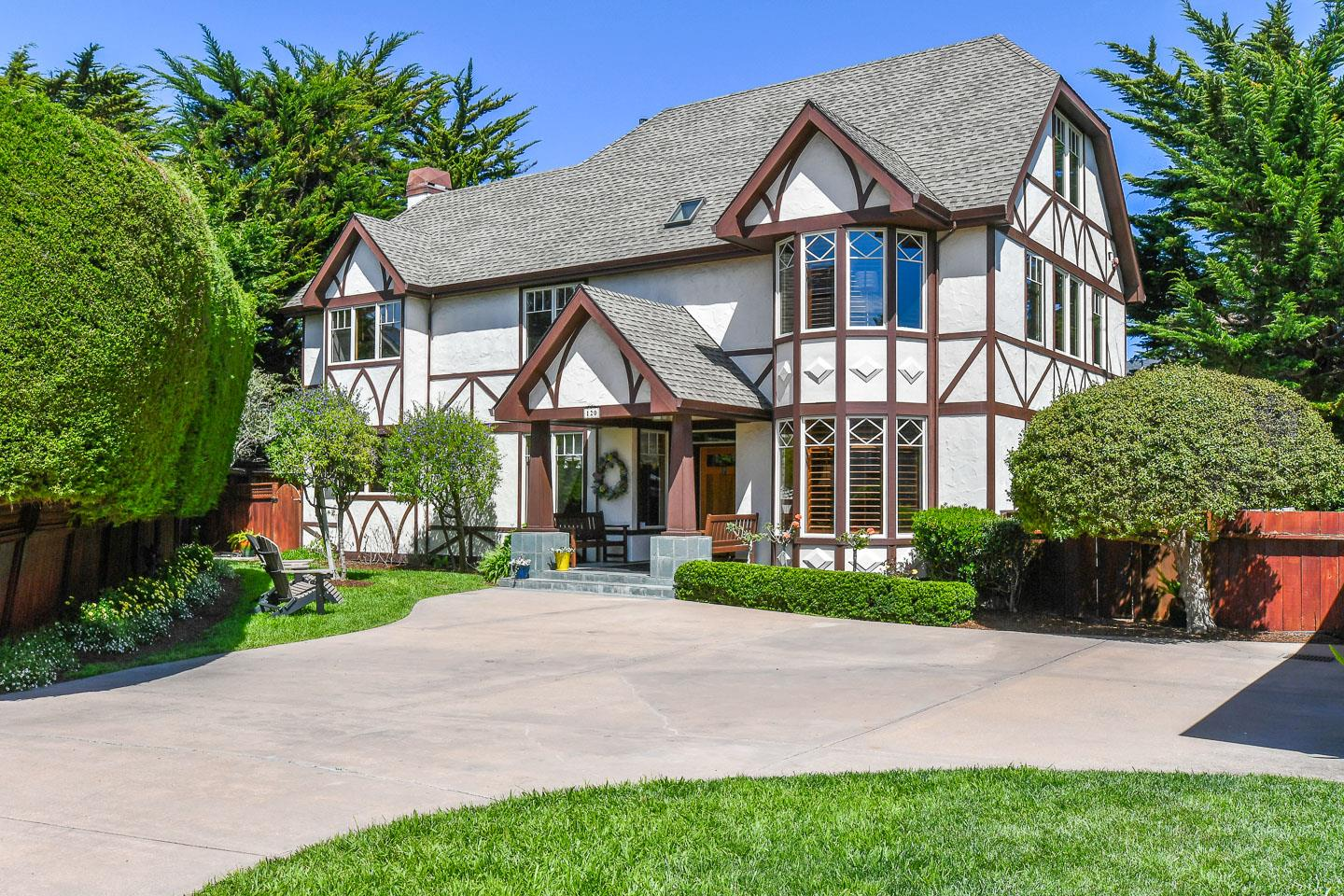 Just dropped price to $1,995,000!!! Unbeatable, stunning, gated, executive, Tudor-style Estate, sits in one of the most premiere & coveted locations of Santa Cruz ~ just a stone's throw from World famous West Cliff Drive, beaches & the Pacific ocean! This majestic, 4 BR, 3BA, 2800+ sq.ft. home, exudes quality & charm, offers peace, tranquility, exceptional privacy & yet is only moments to the beach & leading Santa Cruz attractions such as Lighthouse Point, Steamer Lane, Surfing Museum, the Santa Cruz Wharf, Monterey Bay Marine Sanctuary, Beach Boardwalk and Natural Bridges State Beach.Situated on an expansive, 10,800+ sq.ft. lot of meticulously maintained & professionally landscaped grounds, this light-filled, beach property also features vaulted ceilings, skylights, beautifully-framed bay windows, sparkling hardwood floors, gorgeous kitchen, and elegant, spacious, comfortable living throughout. Outstanding property in a truly breathtaking & unbeatable location! New Improved Price!