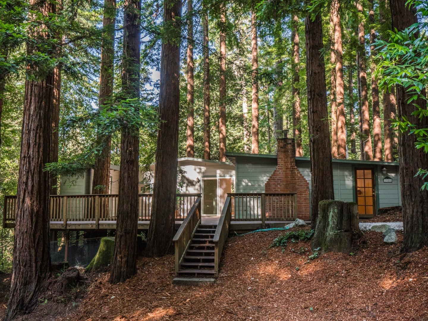 Detail Gallery Image 1 of 1 For 1610 Lakeside Dr, Felton,  CA 95018 - 2 Beds | 1 Baths
