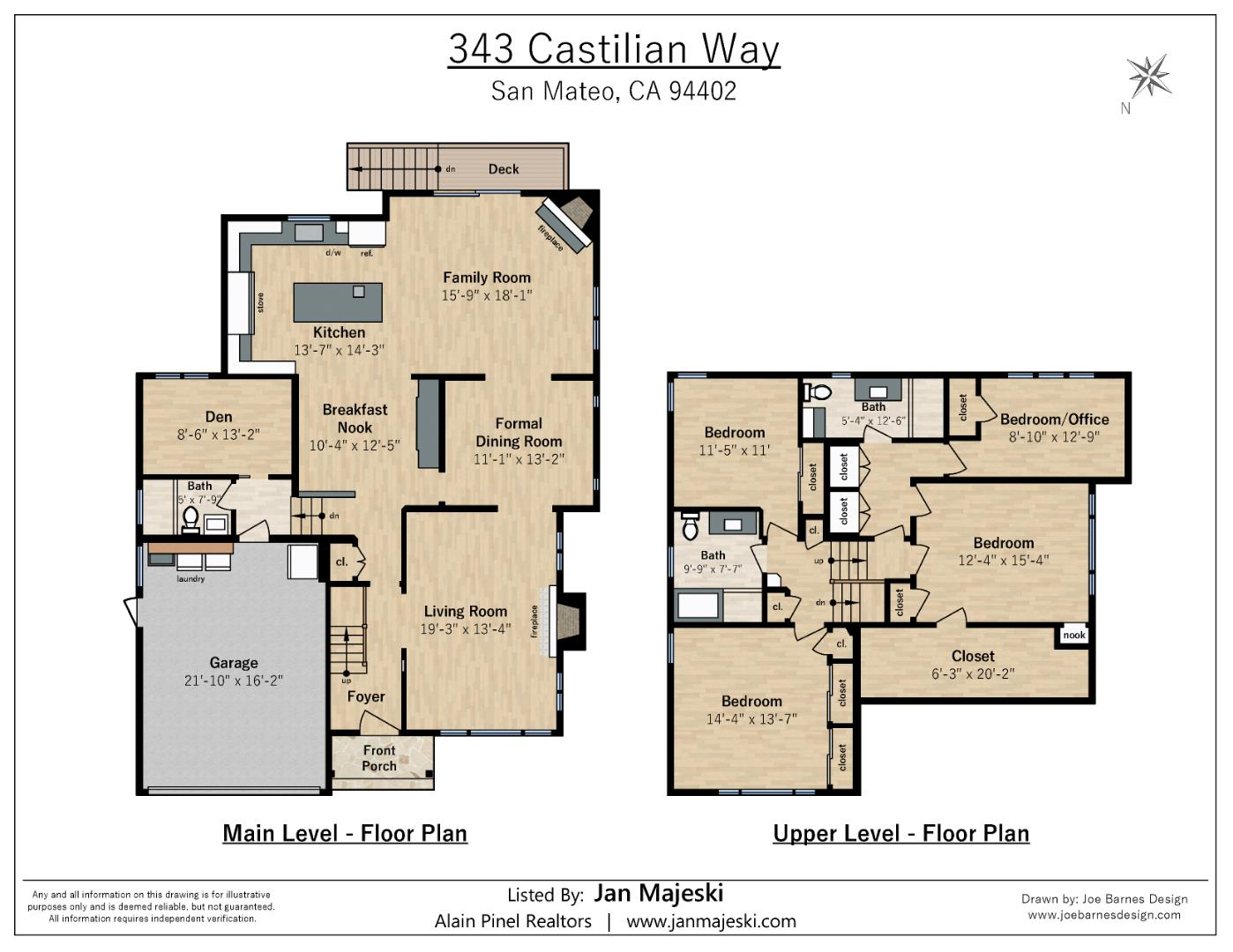 343 Castilian Way San Mateo, CA 94402 - MLS #: ML81722031