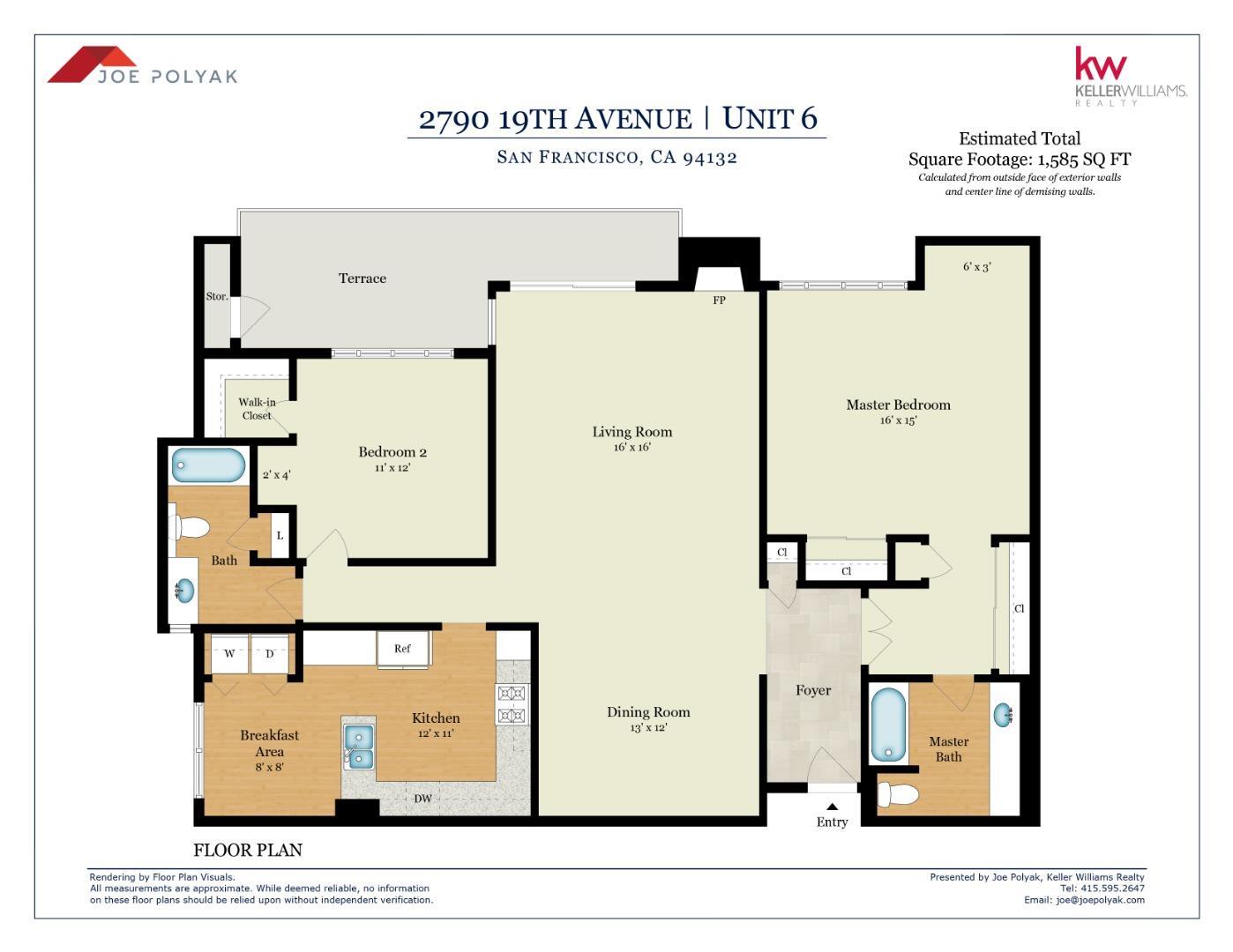 2790 19th Avenue Unit 6 San Francisco, CA 94132 - MLS #: ML81723461
