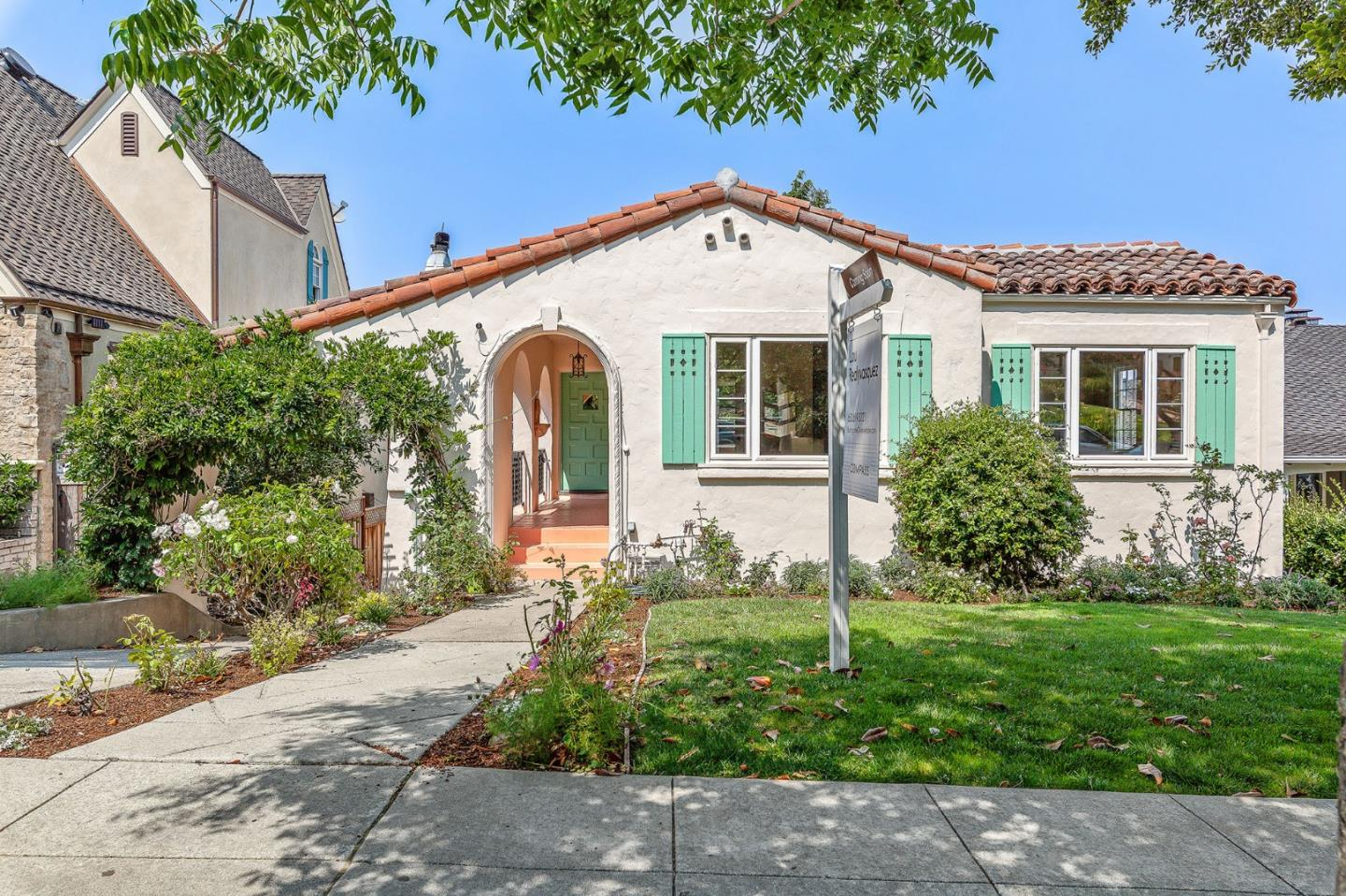 1446 Alvarado Ave., Burlingame, California
