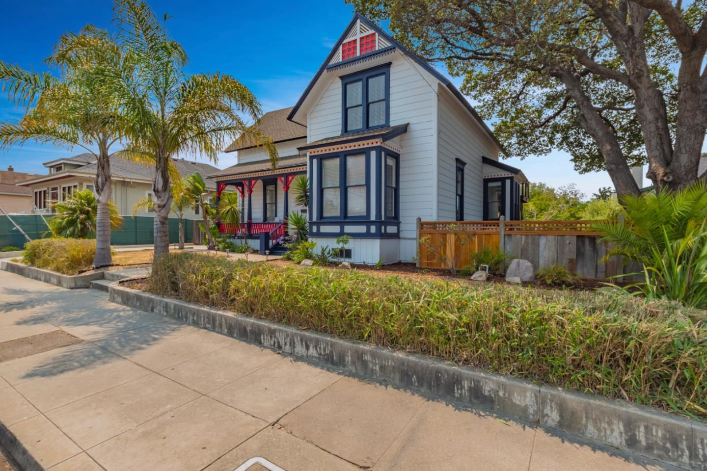 This beautiful Victorian is a legal triplex and centered in the highly desirable Seabright Beach neighborhood. With 3 kitchens, 3 bathrooms, 4 bedrooms, 3 living spaces and a very large lot, you have endless options for making the most of this amazing property. Bring your entire family together for a barbecue on the huge deck, then retreat to a private unit to enjoy a book after a long day at the beach. Or rent out a unit or two and keep one available for your family to use whenever you want! Now thats a savvy way to vacay! Develop the expansive lot into additional units to accommodate a larger family or gain more rental income. Walk or bike to local favorite hotspots such as Verve Coffee, Java Junction, La Posta, Tramonti, Lindas Seabreeze Café, and the Arana Gulch trail, which provides lovely views and easy access to the Santa Cruz Harbor and, of course, Seabright Beach!