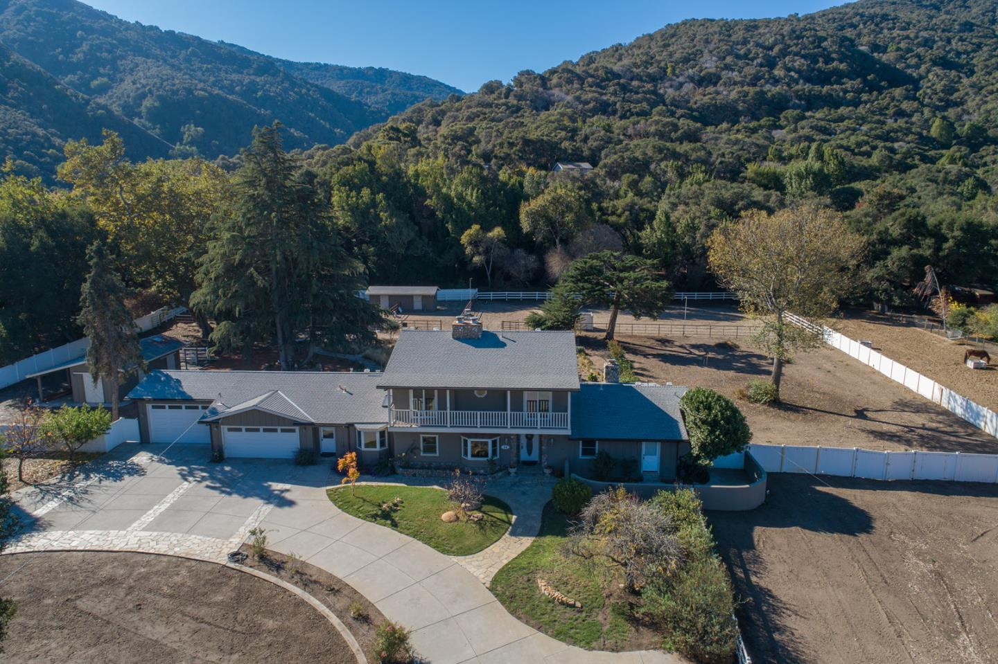 Detail Gallery Image 1 of 1 For 56 W Garzas Rd, Carmel Valley,  CA 93924 - 3 Beds | 3/1 Baths
