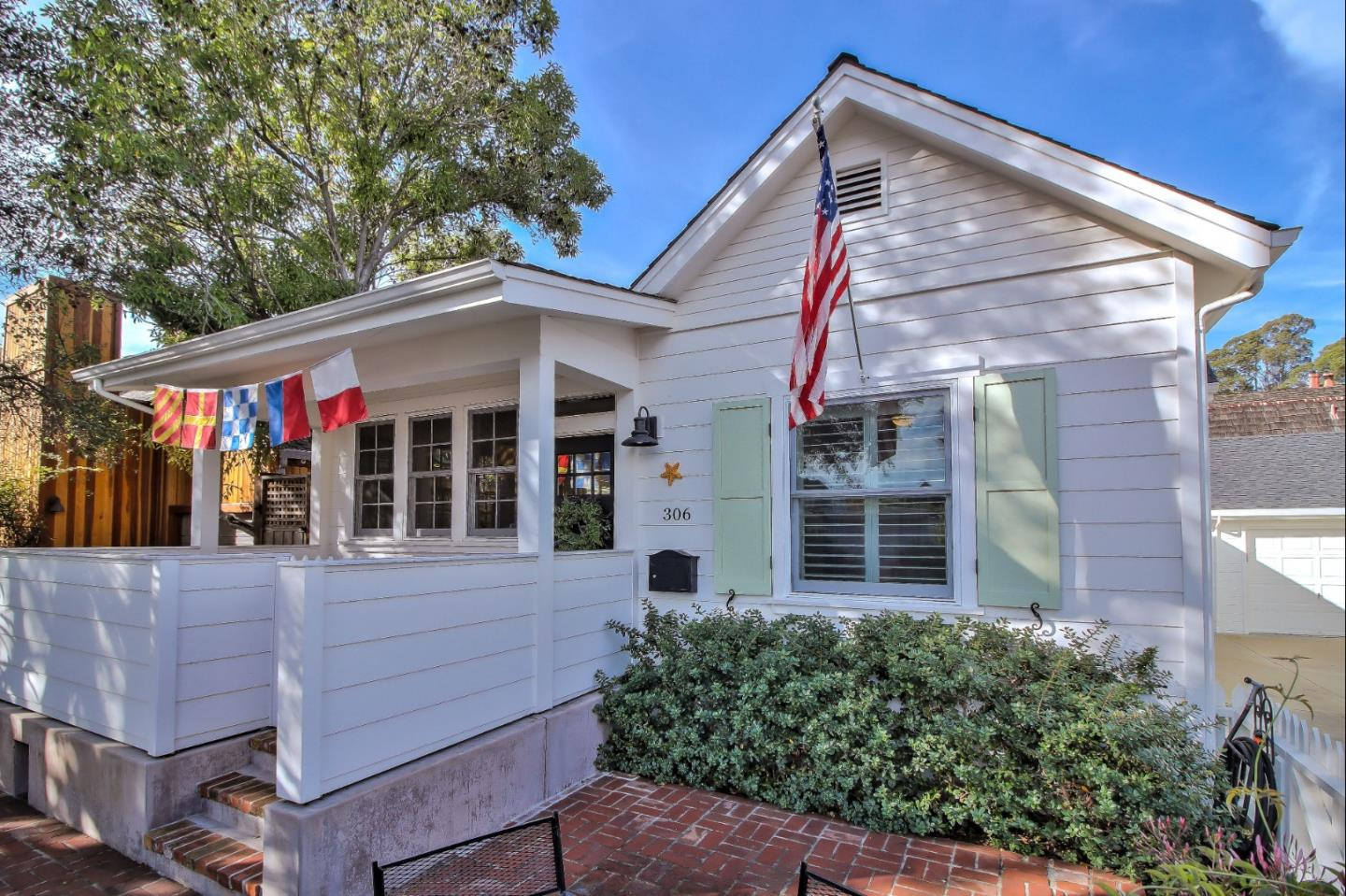 WOW!! A remodeled and expanded beach cottage, designed by Matson and Britton, on Capitola's coveted Depot Hill? You might need to pinch yourself, as this is a dream to many! Welcoming open floor plan draws you in and invites you to enjoy its many cozy spaces to gather and relax. Soaring ceilings with high punch out windows, provide lots of light and privacy. The home features custom cabinetry with built in storage and TV cabinet, wood floors, farm sink, Milgard windows, Calcutta Marble and Wolf and Sub Zero appliances. Whimsical design touches of wainscoting and corrugated metal are fresh and chic. Under counter washer/ dryer is smart European style. Upgraded electrical and plumbing, newer furnace and on-demand hot water heater. Charming porch for lazy mornings and afternoons enjoying your favorite beverage. All this AND a perfect location! Short walking distance to Capitola Village and Beach, restaurants, shopping and awesome events. Be a part of this exceptional Capitola community!