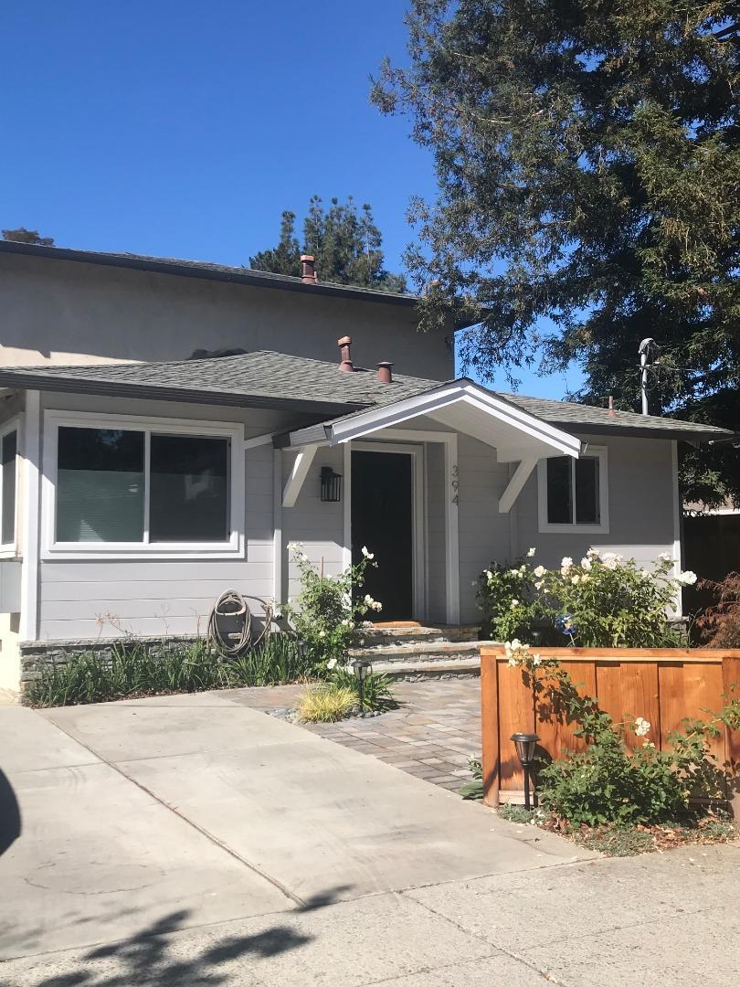 394 Mariposa Avenue Mountain View, CA 94041 - MLS #: ML81732538