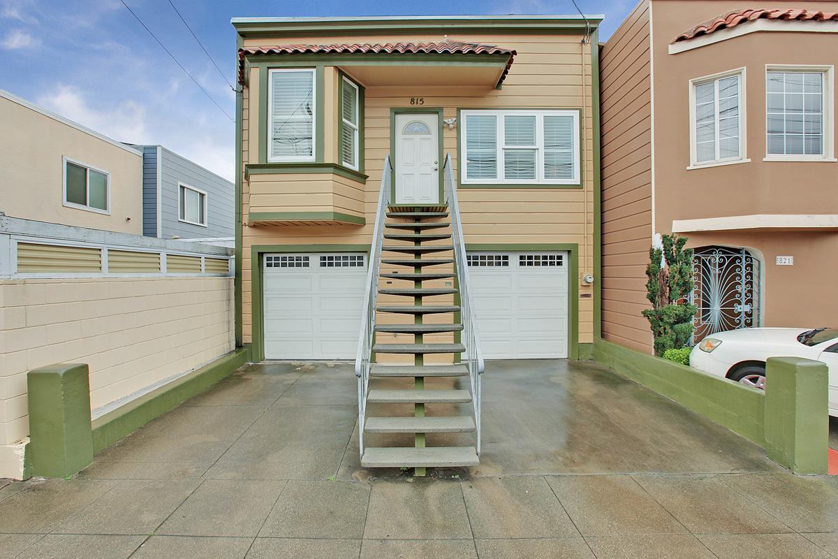 815 Huron Avenue San Francisco, CA 94112 - MLS #: ML81732959