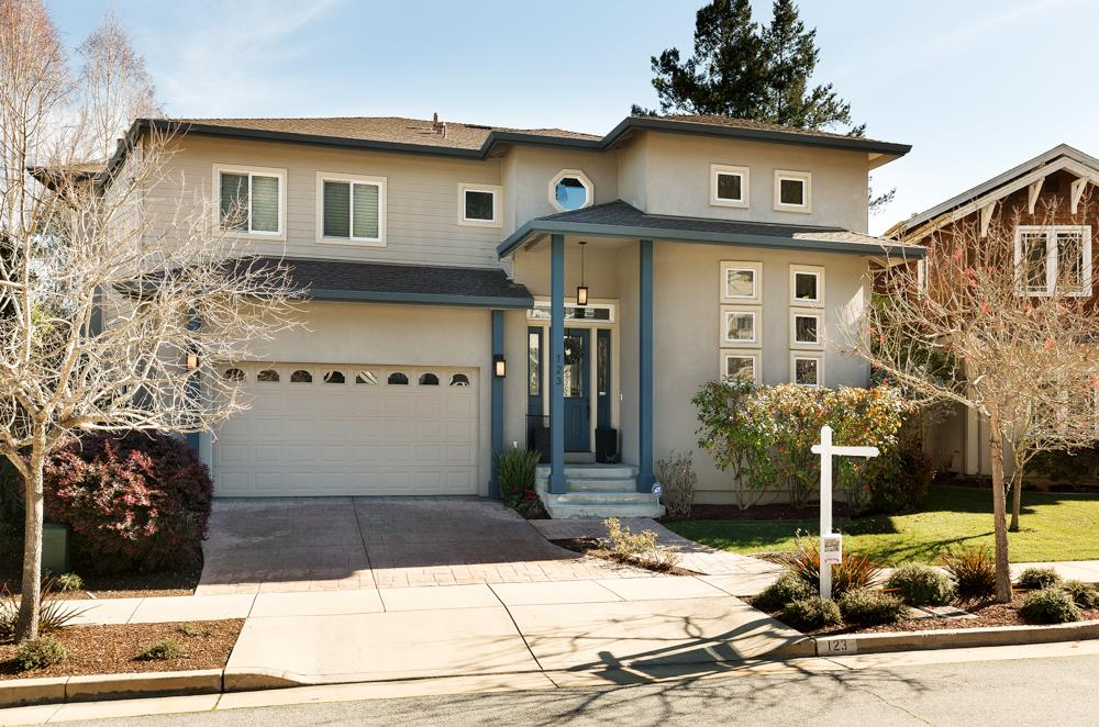 Give the busy professional something to smile about in this newer, 4BR in sought-after Rancho Carbonera, one of the areas newer custom home developments.  Nice cul-de-sac setting w/good neighborhood vibe, close to Silicon Valley commuter buses and Pasatiempo Golf Course, and five minutes fr redwoods, trails, beaches and downtown Santa Cruz. Built in 2006, but the feel is new w/high end finishes complimented w/solar, Tesla charger in the garage, whole house fan, whole house audio, wet bar and gas fireplace. Light-filled entry welcome you inside while 10 ft ceilings and well-placed windows give you a front row seat to the outdoors. Cooks kitchen w/generous array of cherry cabinets and granite counters, center island, coffee bar, breakfast bar and dining room seating. Hardwood flrs throughout, custom built-ins and lighting, closet organizers, upstairs laundry w/sink and folding area. 16K sq ft parcel w/greenbelt views gives backyard privacy and Zen-like feel. Now this is what I call HOME!