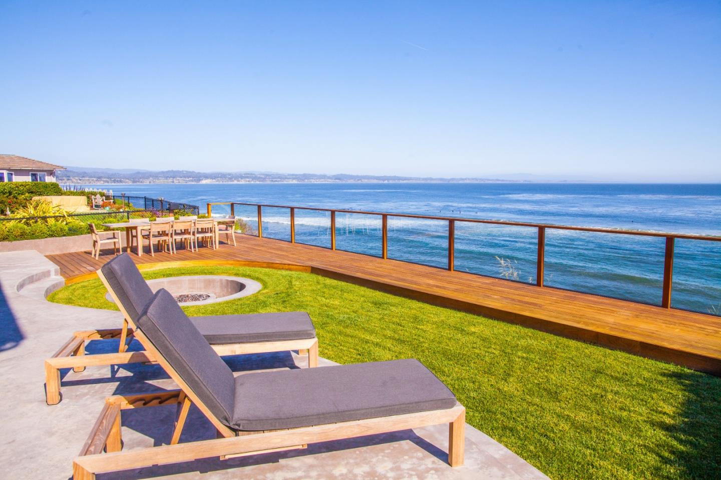 4330 Opal Cliff Dr. is a Matson Britton architectural masterpiece that stands apart as one of the Monterey Bay's most unique and special homes. This retreat is an ode to ultra-luxury and the modern esthetic - a four-bedroom shrine perched atop Opal Cliff's scenic bluffs. The meticulous design took six years to complete and no expense was spared with exterior windows clad in solid bronze, a copper Diamond Spa, rare stone throughout, huge breathtaking pivot doors and a jaw dropping executive office. The expansive glass walls stand as a monument to the relationship between the ocean and shoreline. This palace of glass, grace, and beauty offers panoramic views of three world-class point waves as well as the quaint lights of the expansive Monterey Bay. Make sure to watch the video tour!