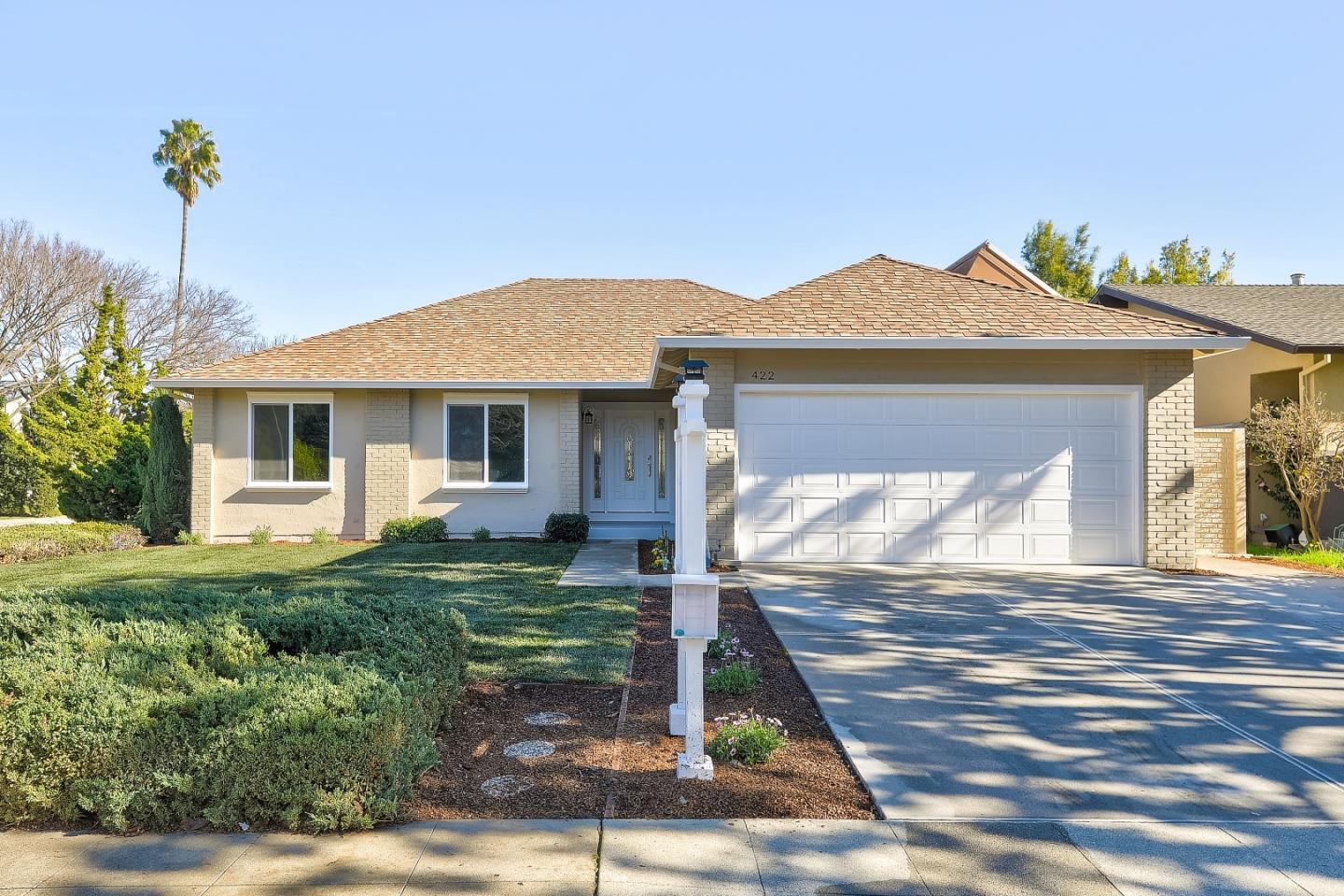 Detail Gallery Image 1 of 1 For 422 Joshua Way, Sunnyvale,  CA 94086 - 3 Beds   2 Baths