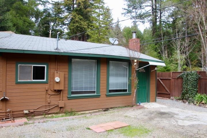 Great starter home in Riverside Grove. Large living room with woodstove, builtins, and large picture window. Two sided kitchen has good storage and counter space. Two bedrooms. Enclosed patio to enjoy dinners with family and friends in warm weather! Flat, sunny, fenced lot with garden areas. Fully fenced yard. Carpet and paint in good condition. Updated bath!