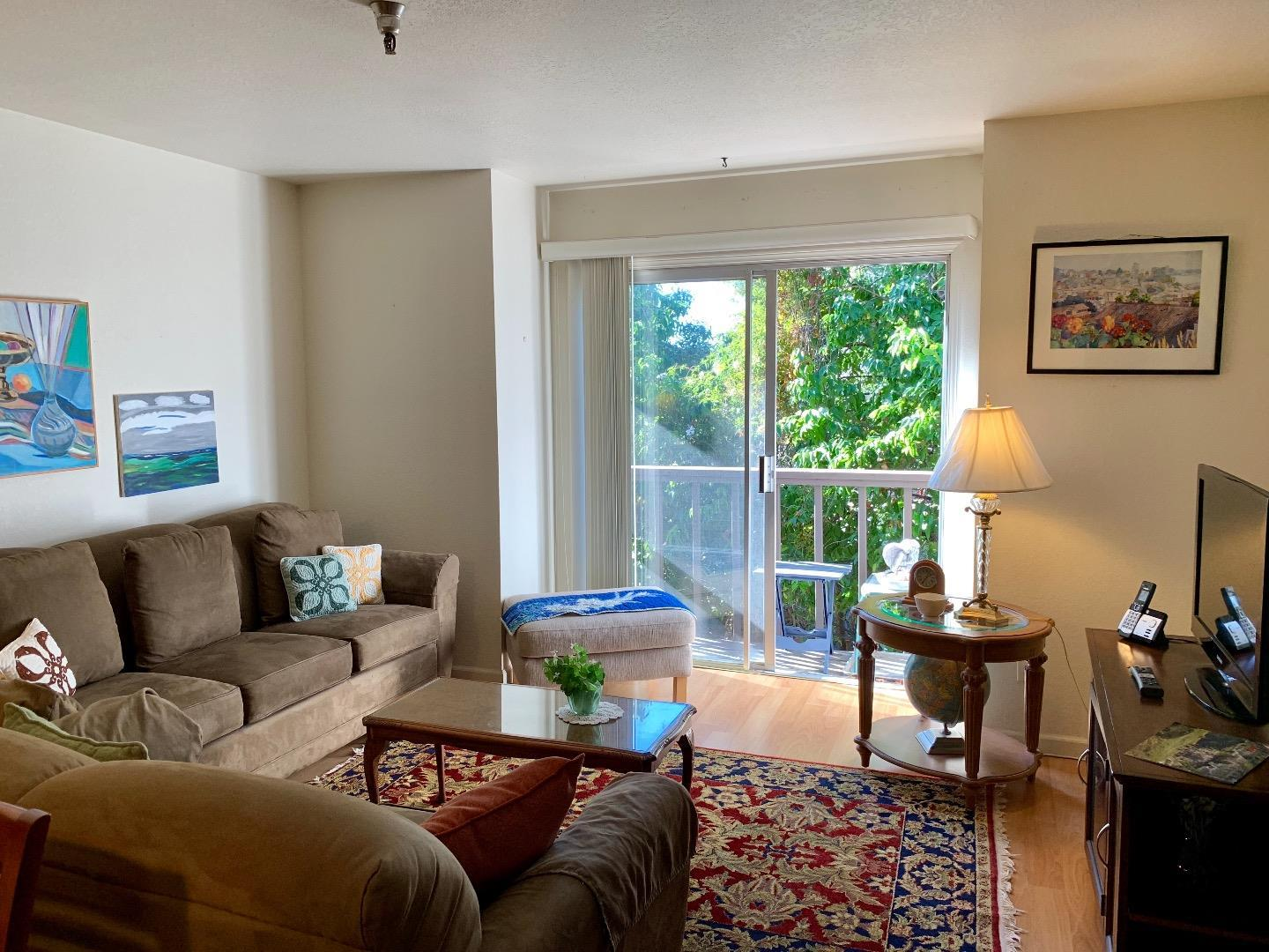 "SPACIOUS, BRIGHT, AND AFFORDABLE ""Measure J"" condominium, located in wonderful 62+ community (additional residents can be 55+) that is close to everything! This bright and sunny end unit on the second level has elevator access and views of trees from all windows. Conveniently located off of 17th Ave, near Soquel Ave and Hwy 1, the Vista Prieta Community has rec room, sun room, laundry rooms, garden, greenbelt and more. Buyer must meet income limitations restrictions ($83,500 for 2 people), cannot own any other real estate, and unit must be buyer's primary residence."
