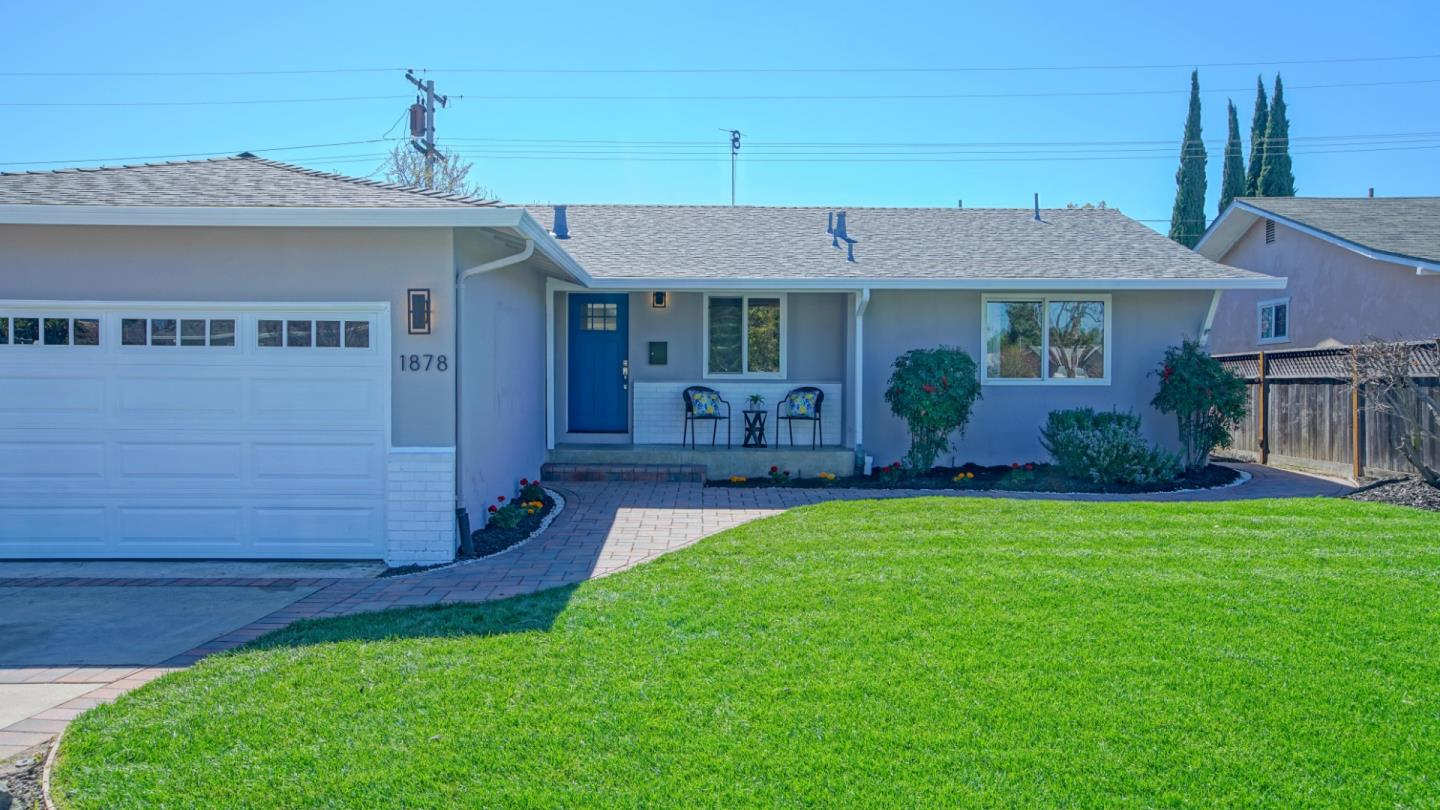 Detail Gallery Image 1 of 1 For 1878 Rosswood Dr, San Jose, CA, 95124 - 3 Beds | 2 Baths