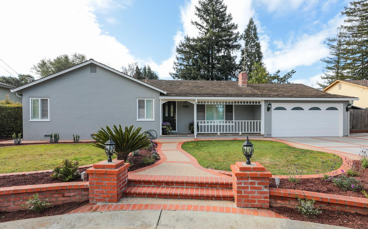 Numerous Updates and Cupertino Schools. 3 bedrooms, 2 baths on one level. Approx. 1,751 total sq. ft. (not verified by APR) Home: 1,321 sq. ft.; patio: 430 sq. ft. Living room with fireplace plus formal dining room. Remodeled sky-lit kitchen with quartz countertops and stainless steel appliances. Spacious window-lined family room opens to the rear yard and pool. Private rear yard with large covered patio and pool. Located on a non-through street. Just over one mile to Rancho Shopping Center. Excellent Cupertino schools.