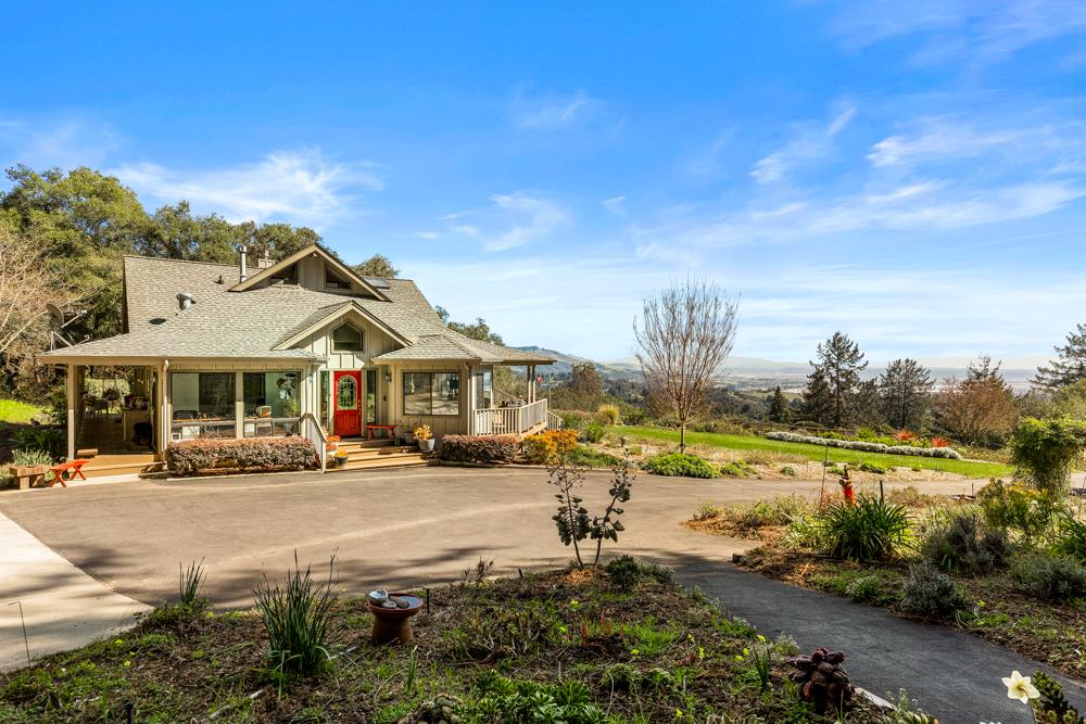 Fabulous Corralitos Country Property! End-of-Road Privacy on 11.5 Acres. Built in 1992, 3 bed, 2.5 bath, 2202 Sq. Ft., Two-Car Garage plus Artist Studio and Potting Shed. Panoramic Views, Nature, Fresh Air,  and Serenity Abound. Majestic Paradise Found!