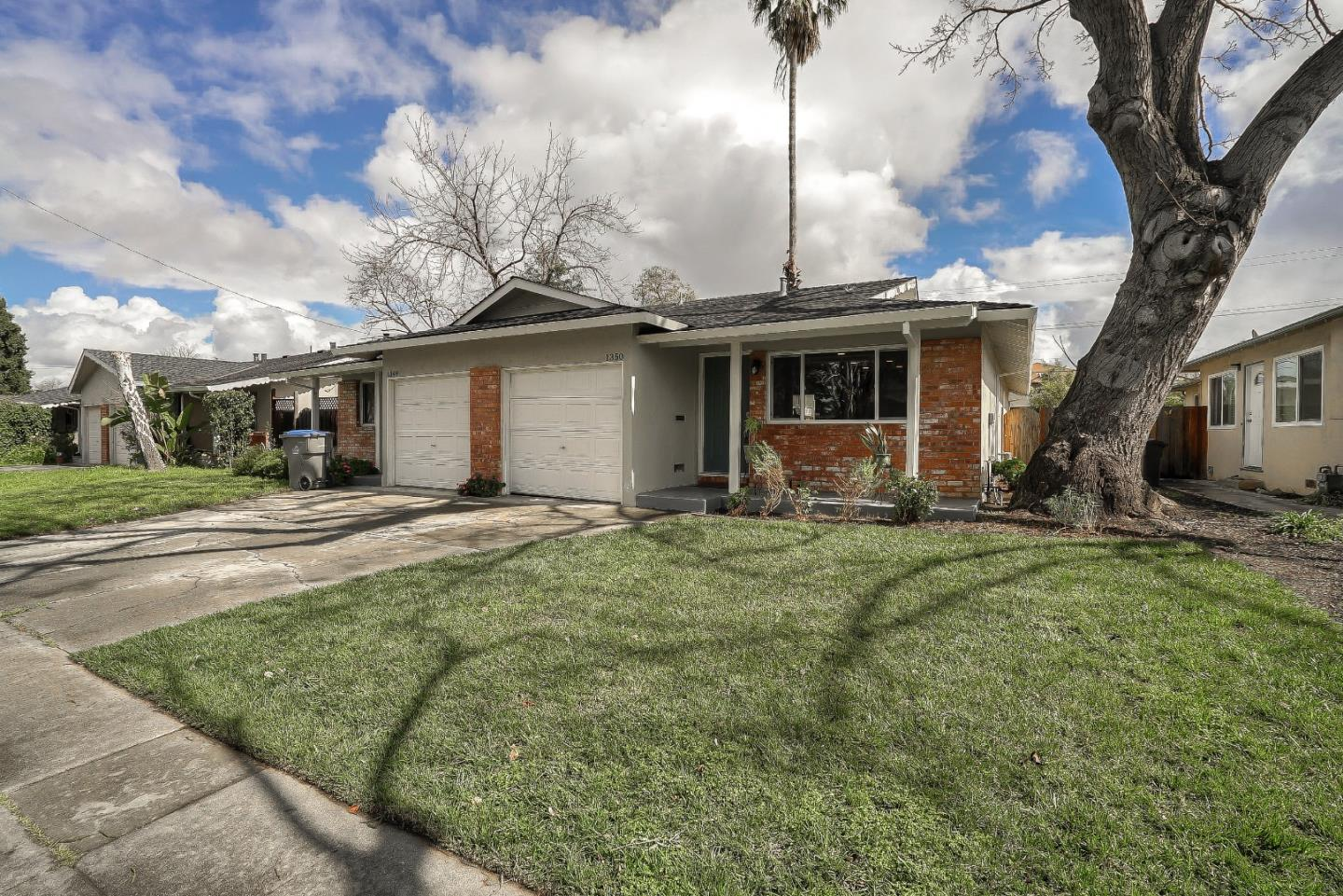 Detail Gallery Image 1 of 27 For 1350 Darryl Dr, San Jose, CA, 95130 - 2 Beds | 1 Baths