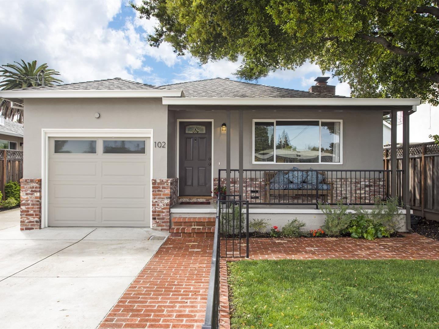 Detail Gallery Image 1 of 1 For 102 Nueva Ave, Redwood City,  CA 94061 - 2 Beds   1 Baths