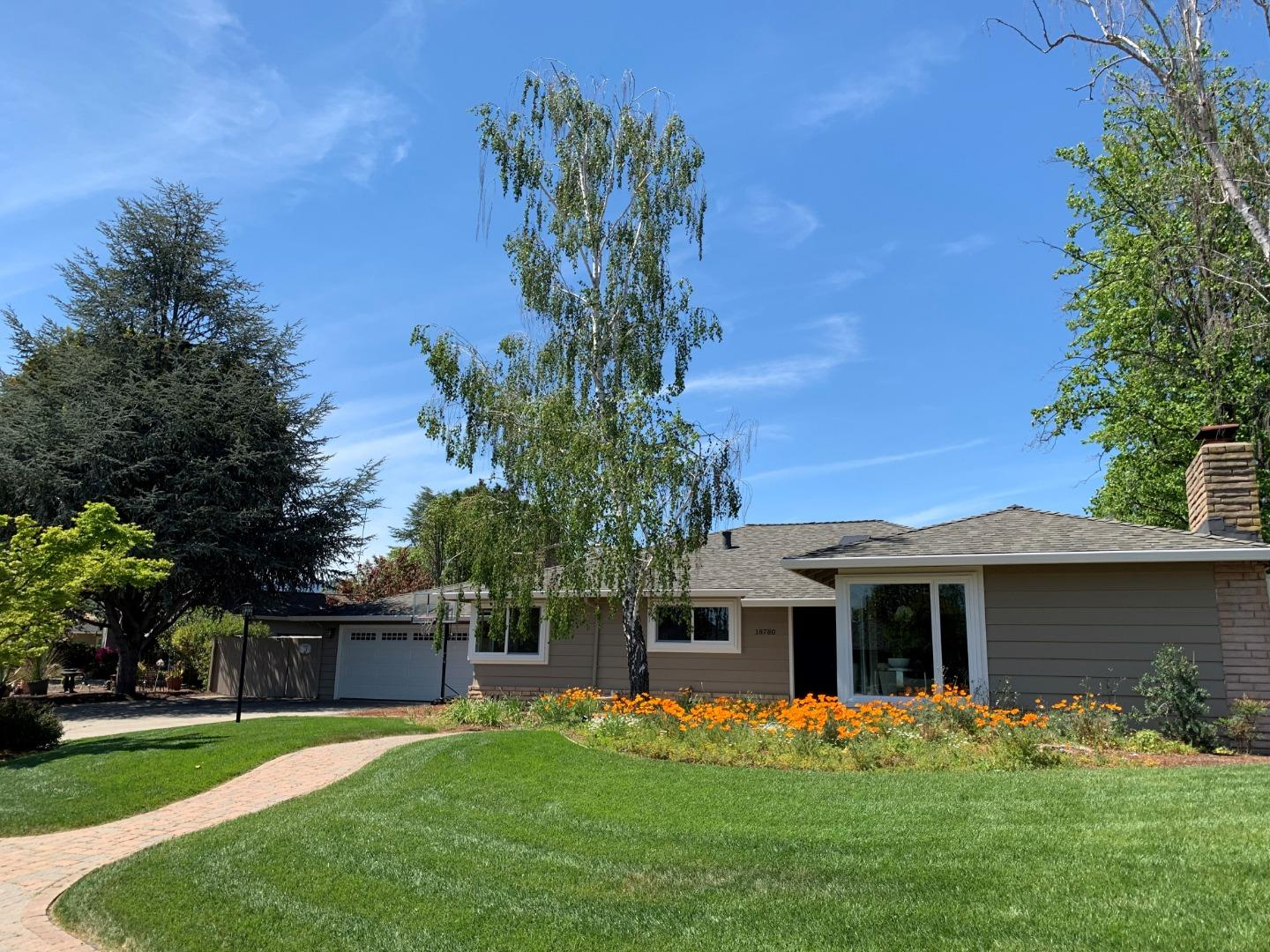Detail Gallery Image 1 of 1 For 18780 Kosich Dr, Saratoga, CA, 95070 - 4 Beds | 2/1 Baths
