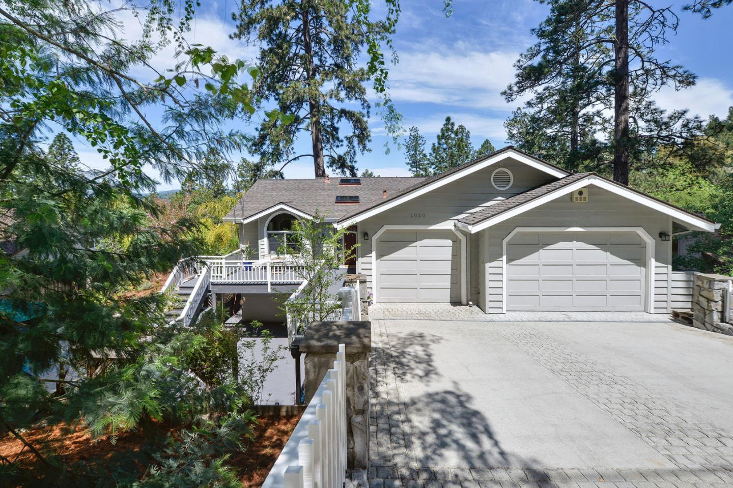 Detail Gallery Image 1 of 60 For 1030 Whispering Pines Dr, Scotts Valley, CA, 95066 - 4 Beds | 2/1 Baths