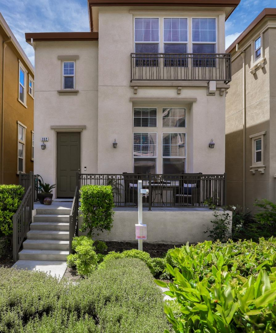 Detail Gallery Image 1 of 1 For 332 Heritage View Ter, San Jose,  CA 95125 - 2 Beds | 2/1 Baths