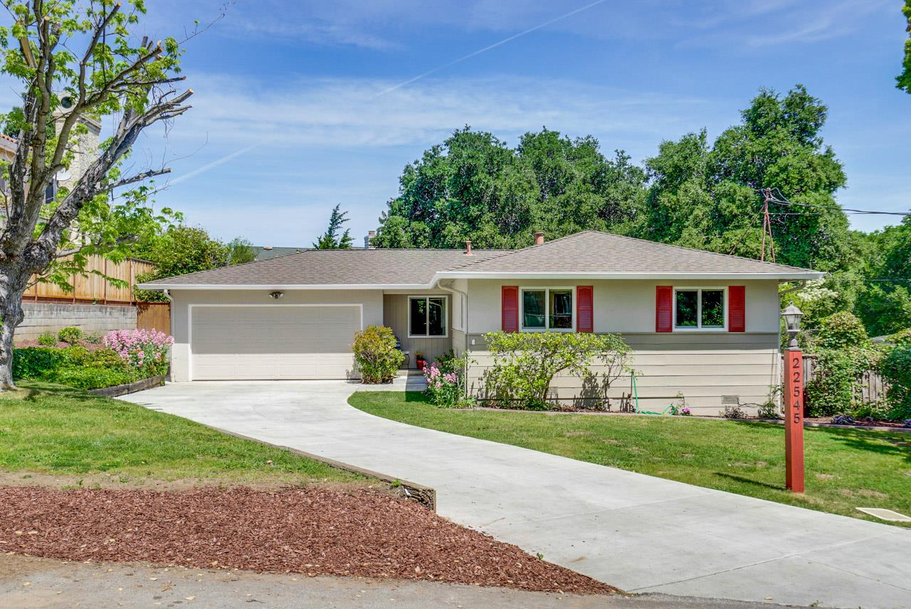 Detail Gallery Image 1 of 1 For 22545 Poppy Dr, Cupertino, CA 95014 - 3 Beds   1 Baths