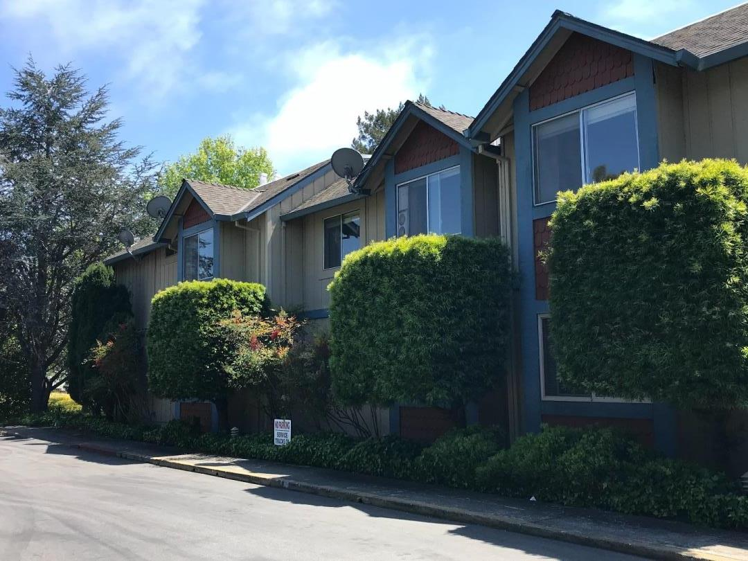 This could be the perfect condo for you to retire in! Comfortable 2 bedroom, 1 bathroom, single level, upstairs, end unit with views of the trees & only one shared wall in the Vista Prieta community. Building provides interior access to the condo, night time security doors, common area laundry facility, large day room, and both elevator & stairs access to the second floor. Assigned outside parking is provided. This is a great opportunity to purchase a condo that is centrally located, close to so much of what Santa Cruz has to offer. Vista Prieta is a Measure J community serving seniors 62+. Income and qualifying limits do apply.  Square footage and age are approximate - buyer to verify.
