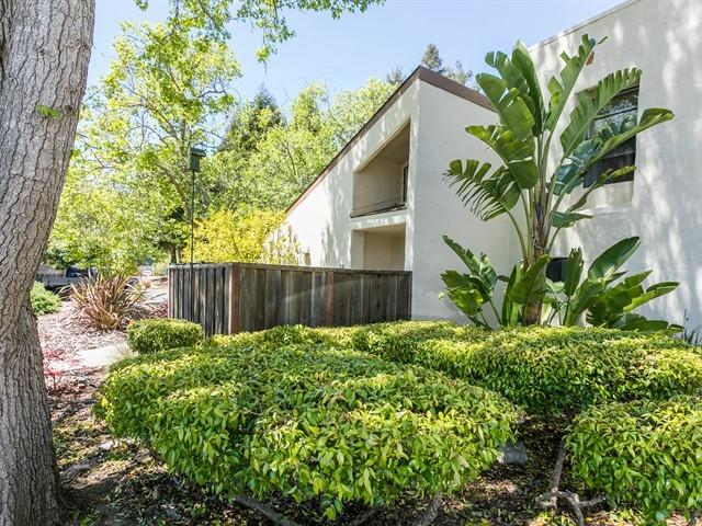 "Located near UCSC! Stunning end unit in highly desirable small complex on Santa Cruz's Upper Westside. Split level design features soaring ceilings and open concept living, the centerpiece of which is a beautiful stone surround gas fireplace. Entertain in style as the dining and living areas open out thru two sets of double french and sliding doors to a spacious, enchanting paver tiled patio with a built in rock water feature! You won't want to leave the sounds of water and nature all around, but if you do want to take in some scenery, this excellent location accesses Meder St. Park and Dog Park and some of the best hiking and biking, restaurants, wine tasting, craft breweries and beaches on the Central Coast! 2 BR, 1.5 BA with attached 2 Car Garage, ample storage inside and double access ""Hollywood"" style full bath with seperate sink/vanity areas. Start enjoying your new home today!"