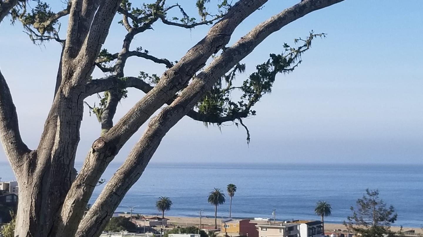 The best price unobstructed ocean view home with added bonus of canyon views on a flat lot.  Enjoy living on the coast on a great Street in Seacliff, stroll to the beach, restaurants, new Aptos Village and just endless miles of coastline for walking,  water sports or just relaxing.  The home consist of 2 bedrooms, 2 baths, with loft and laundry room in main house as well as a studio above the two car garage.