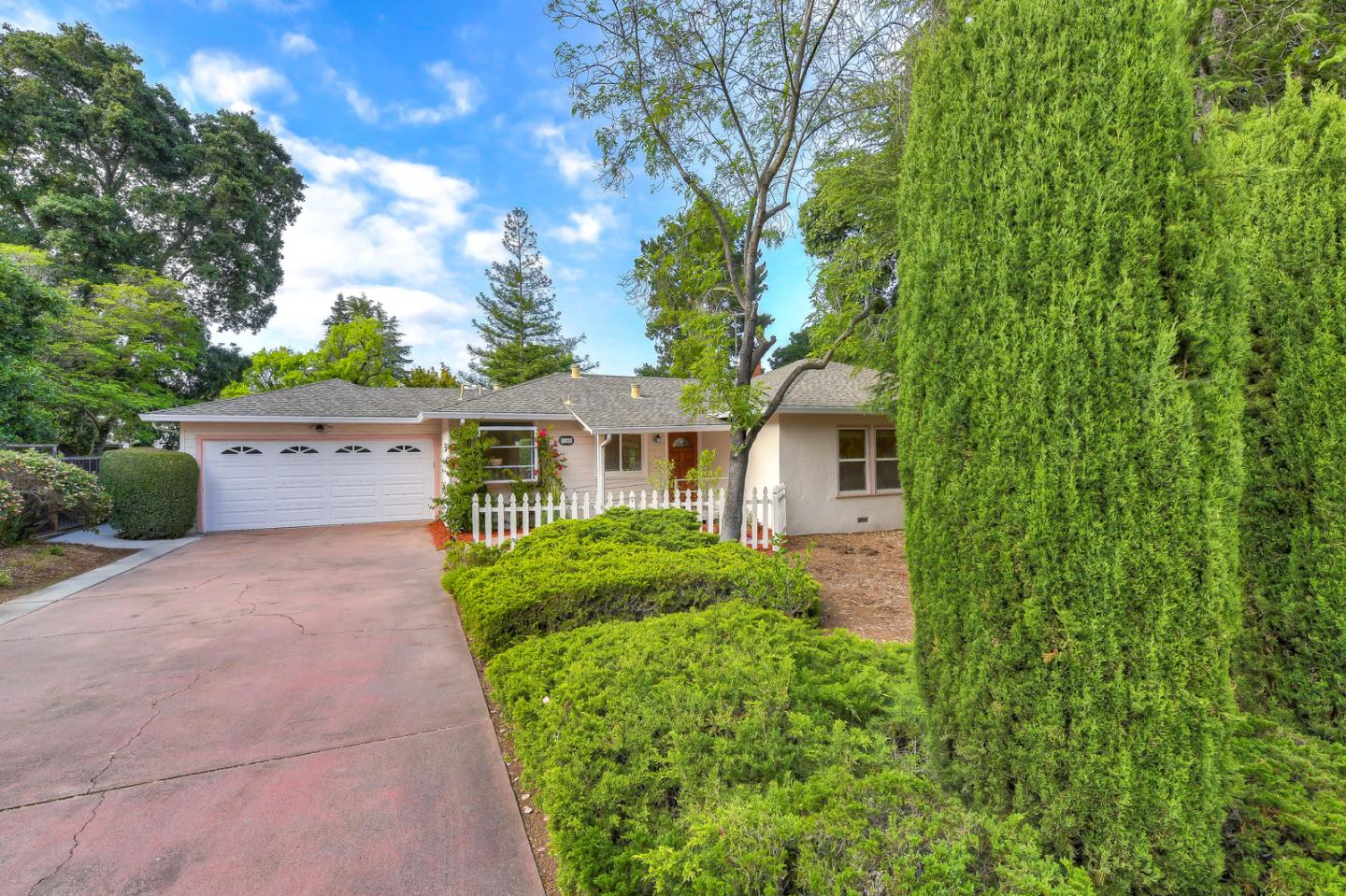 A lovingly maintained home perfect for indoor outdoor entertainment with sliding glass doors and picture windows opening up to the zen like backyard, Top rated Cupertino Schools (buyer to verify)