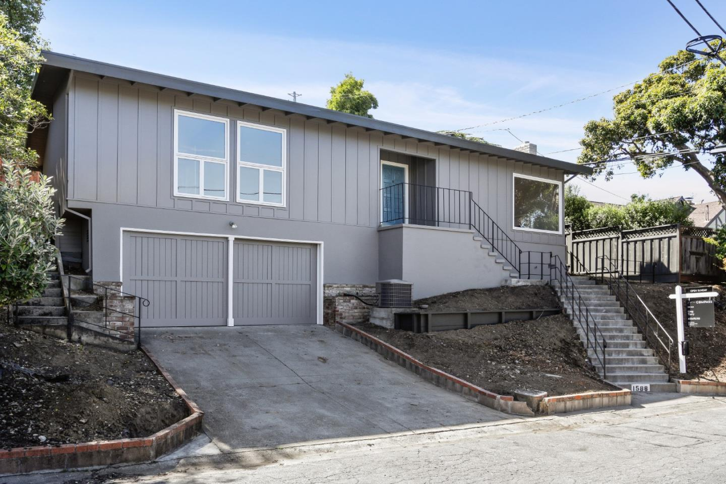 Detail Gallery Image 1 of 1 For 1588 Sunnyslope Ave, Belmont,  CA 94002 - 3 Beds   2 Baths