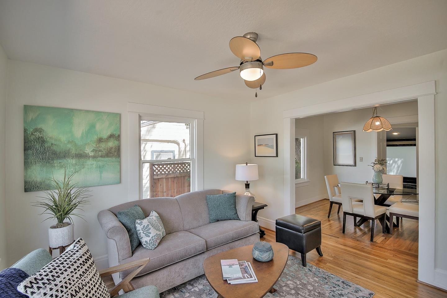 Amazing opportunity to own a fantastic property on Laurent Street in Santa Cruz. This home has been in the same family for generations. The charming Santa Cruz bungalow features newly refinished hardwood flooring, a brand new kitchen, and a new bathroom vanity. There's also an abundance of storage including a large attic space. The LEGAL detached guest unit is complete with a full kitchen and bathroom. There's also a large detached garage with three large storage areas inside as well as a full sized room on the second floor with it's own entrance. The 7,275 square foot parcel parcel backs up to Trescony Park, a popular community garden with a playground. Easy access to commute routes, UCSC, the coast, downtown, and walkable to restaurants and breweries.