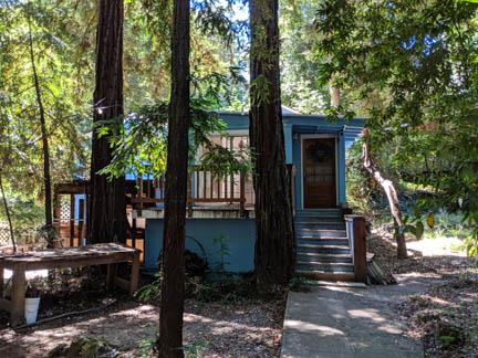 Wonderful opportunity to live in the redwood forest of Felton.  Over a quarter of an acre of land, quite flat.  County of Santa Cruz has a number of restrictions for updating this property.  If you're intention is to remodel the home please see the Santa Cruz Co. planning office before submitting an offer..  Recent appraisal valued the home at $530,000 .  The 12,937 square feet is the total of 2 parcels (074-122-11 for 9104 sq ft which the home sits on and is improvable/074-122-21 for 3833.28 sq ft which cannot be improved) also a neighbor would like to purchase some of the side yard.  listing includes a basement, 300 sq feet and a washer and dryer.  Property has a septic system, propane gas and is on city water.  UC Santa Cruz is just 20 min away and 25 min to the Santa Cruz Boardwalk. Be sure to drive down Hwy 17 to Mt Hermon Rd, left at Graham Hill Rd, left onto E. Zayante Rd and then right on Waner Way.  All square footage information was taken from the appraisal report.