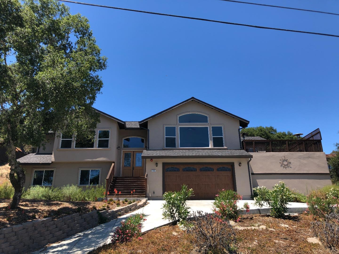 Looking for the coastal lifestyle and community? Your wait is over! This 3 year old custom home, has 2,349 sq.ft.. 3 bedrooms and 2.5 baths and is in the sought after Whispering Pines neighborhood of Scotts Valley.  Enjoy spectacular sunrises and sunsets with views of Scotts Valley hills and mountains in the background. Enjoy the soaring vaulted ceilings, large windows and the open kitchen and deck is perfect for entertaining.  Once you are home, no need to get in the car, great walking neighborhood and shopping, movies, dining and Skyparks soccer, tennis, playgrounds  and award winning schools... all close by. There is awesome mt biking and hiking among the redwoods, Henry Cowell back entrance is just down the street. For the commuters, HWY17 to Silicon Valley or the beach is all close by.