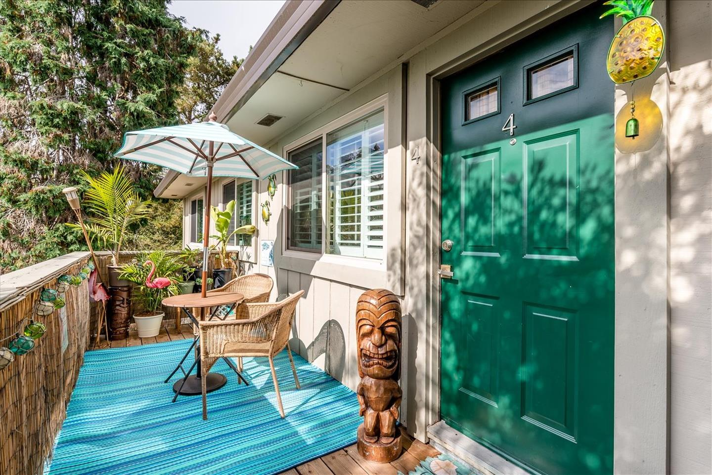 Imagine walking to beautiful New Brighton Beach every morning or evening, then strolling and dining in picturesque Capitola Village! Great location, easy access to Highway 1. Well-maintained and charming 2 bed 1 bath condo with large, sunny balcony and access to community pool. Beautiful wood floors and ready to enjoy. Don't miss this opportunity to invest in one of California's most beautiful coastal towns. Perfect for first-time buyers, smaller families, or as a vacation getaway!