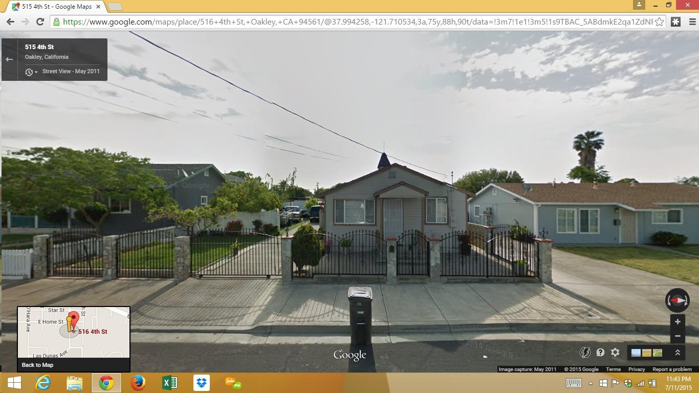 516 4th Street, OAKLEY, CA 94561