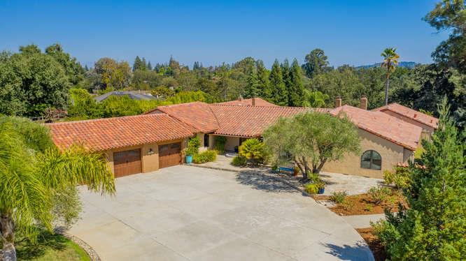 Detail Gallery Image 1 of 1 For 15328 Via Palomino, Monte Sereno, CA 95030 - 5 Beds | 4/2 Baths