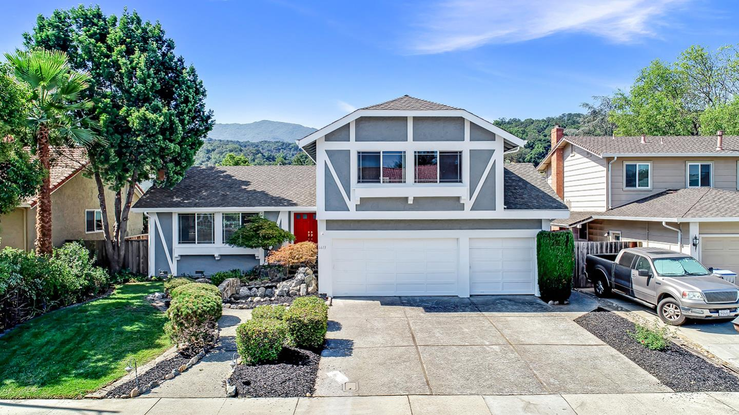 Beautify updated home in Almaden Valley. 4 Bedrooms, 2.5 bathrooms, 3 car garage, 2,035 s.f. of living area, 7,062 s.f. site area. Central AC. Landscaped front and rear.