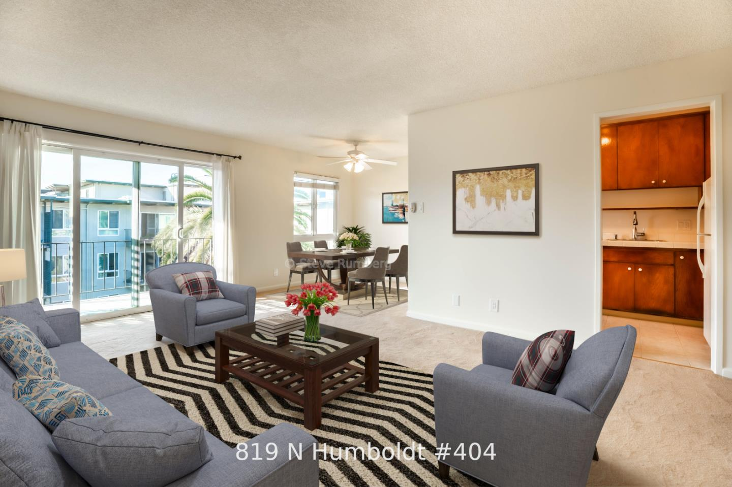 Detail Gallery Image 1 of 1 For 819 N Humboldt St #404,  San Mateo,  CA 94401 - 1 Beds | 1 Baths