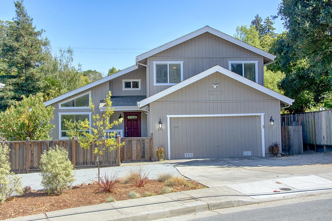 Beautifully updated, turnkey,  light filled home in a great sunny Santa Cruz location! BONUS - Avoid the fish-hook and take the Pasatiempo exit to the popular Carbonera neighborhood.  Smart Features are available with APP that allow the home to be energy efficient being controlled by smart phone. Spacious 3 bedroom, 2.5 bath home with a gorgeous kitchen, granite counters, wine refrigerator, great room, hardwood floors, vaulted ceilings, and a large master closet with space for a home office. Appealing flat, fenced backyard, on a nicely sized lot offering decks, & lovely landscapes. Several features you would only find in a million dollar custom home, yet walk to downtown Santa Cruz, Highway 17 for commuters, beaches, dog park, hiking, Delaveaga golf, doctor offices, Starbucks, Wholefoods, and gyms! Hurry, low inventory so you may not find another home like this one in such a fantastic location!