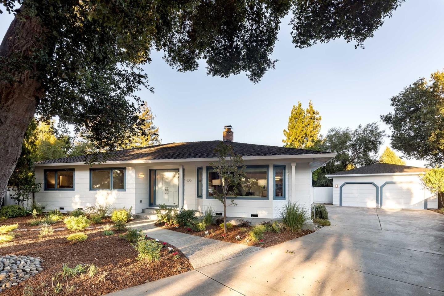 At the end of a peaceful cul-de-sac in sought-after Los Altos, this masterfully remodeled home stands ready to meet a variety of lifestyle needs. Offering 3 bedrooms and 2.5 baths across 2,377 sq. ft. of living space (per county) on a lot of .30 acres (per county), this bright, light home boasts comfortable living spaces and an inviting ambiance. Spacious formal rooms are perfect for entertaining, including the living room with a focal point, two-way fireplace shared with the family room. The superb kitchen has everything needed for the ambitious chef, including a delightful eat-in area. Enjoy the comfort of the master bedroom, which features access to the vast, private backyard with a large patio and lawn. Topping it all off, this desirable South Los Altos location is close to parks, downtown Los Altos and Mountain View, and offers access to acclaimed Los Altos schools (buyer to verify eligibility).