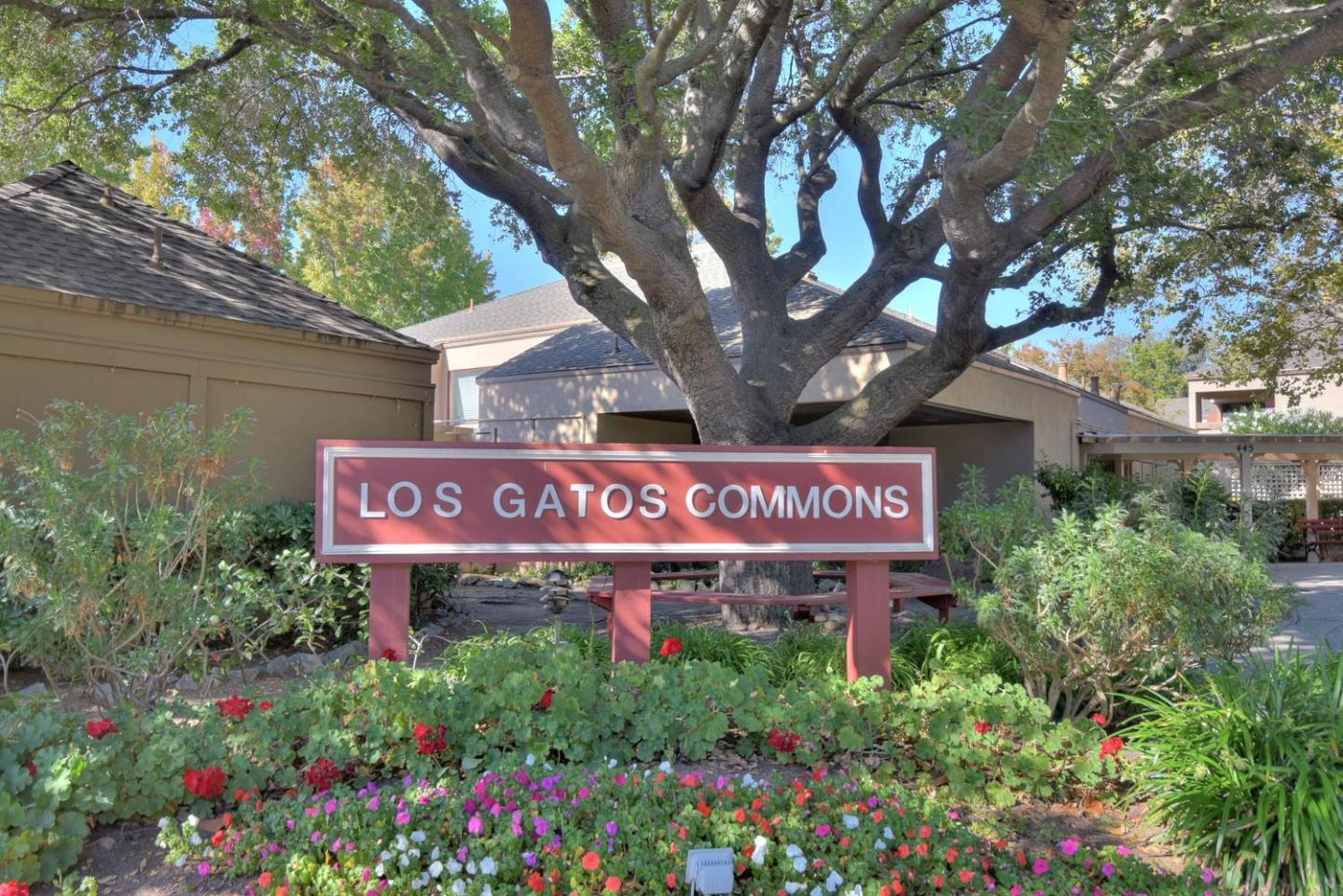 Senior Independent Living at it's best!  Relax and enjoy life in this beautiful and spacious 2 bedroom, 2 bath condo.  Plantation shutters throughout.  Amenities include the pool, spa, exercise room, outdoor green space and a fabulous community club house.  Convenient to downtown Los Gatos, Vasona Lake Park, shopping, restaurants, and Hwys 17, 9 and 85.  The large back patio adds extra living space - outdoors and can be accessed from the master suite or the living room.  You'll have your own indoor laundry.  The HOA organizes group events.
