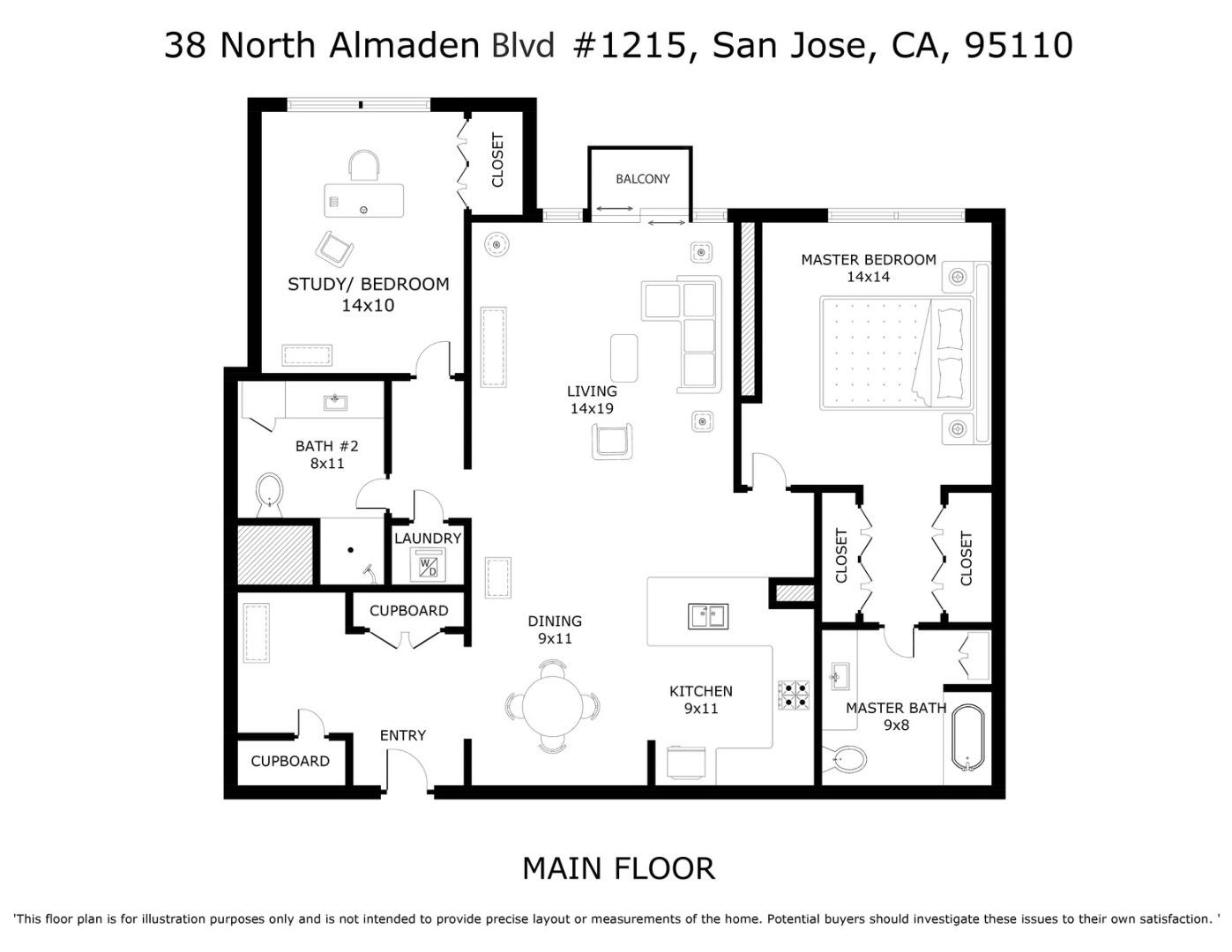 38 N Almaden Boulevard 1215 San Jose Ca 95110 969 000 Www Fnrepm Com Mls 81772798