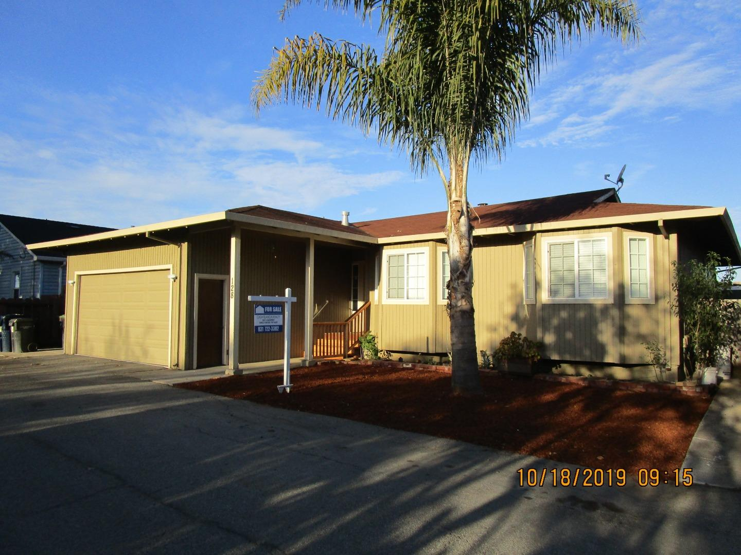 Freedom location ,  a truly well kept home, move in ready.  Feels very spacious,home features  tile floors , free standing fireplace, granite kitchen counter tops, low maintenance yard, close to shopping, schools and easy access to highway one for commuters.